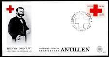 Henri Dunant. Rotes Kreuz. FDC. Niederl. Antillen 1978