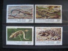 Christmas Island: 1981 Reptiles Set UMM (MNH)