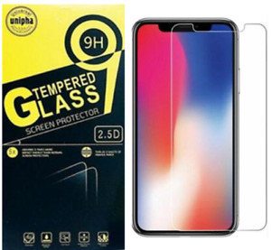 Tempered Glass Screen Protector for iPhone 12/11 Pro X XR XS Max