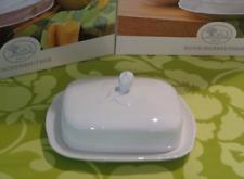 HUTSCHENREUTHER Porzellan MARIA THERESIA weiß Butterdose 250 gr NEU