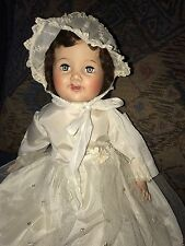 """Vintage 1950's AMERICAN CHARACTER """"Chuckles"""" Doll Oilcloth Body 23"""""""