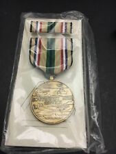 "US MILITARY MEDAL 'SOUTHWEST ASIA SERVICE"" W/ RIBBON  DATED A 5/91  ON BOX"