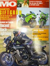 mo Motorrad Magazin 4 / 04, 2004, MZ 1000 S Kawasaki ZX-10R H2 750 Vincent Black
