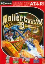 Rollercoaster Tycoon 3 ORO guterzust.
