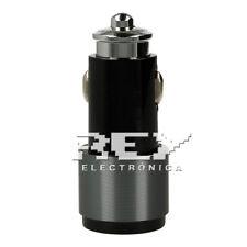 Cargador Mechero para Coche 2 USB  4.2 NEGRO más Cable para Iphone d340/v191