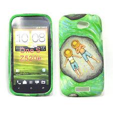 HTC One S Soft Gel Case - Flower 8