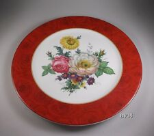 """PHILIPPE DESHOULIERES BAUDELAIRE SERVICE PLATE  11 3/4"""" - CHARGER  - PERFECT!"""
