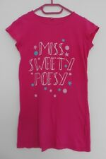 T SHIRT ROSE FUCHSIA. TUNIQUE. MISS SWEETY POESY. TAILLE 12 ANS