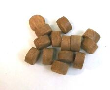 """15 Pack of  BBT 5/8"""" Solid Mahogany Plugs"""