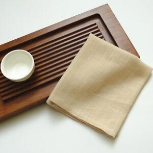 8 Pack Pure Linen Cotton Absorbant Hand Dish Towels Bar kitchen cloth Tea towels