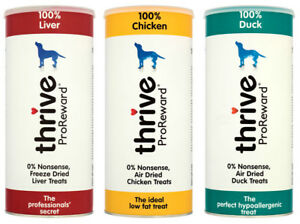 Pet project Thrive ProReward 100% Dog Treats 500g Maxi Tube