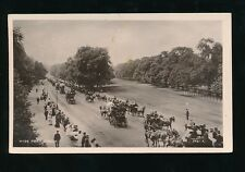 LONDON Hyde Park busy scene Used c1905? RP PPC by Kingsway