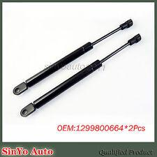 2pcs Rear Hood Shock Damper Strut Lift for Mercedes-Benz SL320 500SL 1299800664