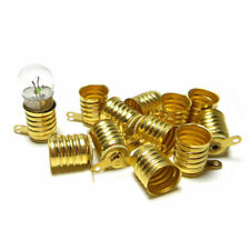 5PCS E10 Round Screw Base LED Light Bulbs Lamp Socket Adapter Converter Hot