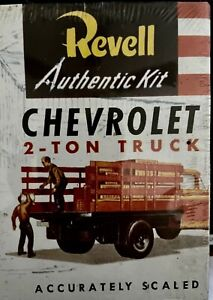 Revell 1994 Model Kit Chevrolet 2-Ton Delivery Truck H-1401 Sealed New In Box!