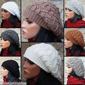 Damen Mütze Strickmütze Baskenmütze doppellagig extra warm StrB 01