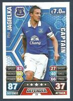 TOPPS MATCH ATTAX 2013-14- #C6-EVERTON & ENGLAND-SHEFFIELD UNITED-PHIL JAGIELKA