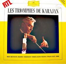 ++KARAJAN/BERLIN  carmen/lac des cygnes/pee gynt LP 1983 GRAMMOPHON RARE EX++