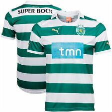 nwt~Puma SPORTING LISBON PORTUGAL soccer football shirt jersey Lisboa Top~Mens S