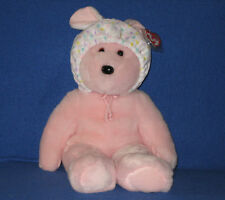 TY BONNET the BEAR BEANIE BUDDY - MINT with MINT TAGS