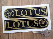 LOTUS JPS Oblong Handed Car STICKERS 160mm Pair Europa Elan Elise Race Racing