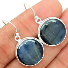 Hawks Eye 925 Sterling Silver Earrings Jewelry BTEE88