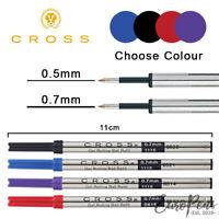 Cross Standard Selectip Gel Ink Rollerball Pen 0.5/0.7mm Refill - Select Colour
