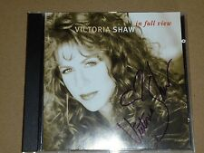 Victoria Shaw - In Full View (CD 1995) ***SIGNED***