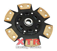 XTR 6-PUCK STAGE 3 CERAMIC CLUTCH DISC for CIVIC CRX INTEGRA PRELUDE ACCORD