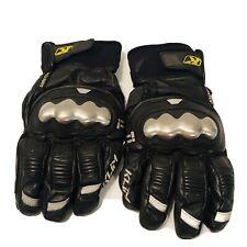 KLIM Element Men's Street Motorcycle Gloves Titanium Knuckle LARGE Gore-Tex EUC