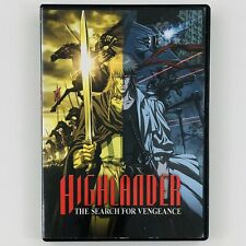 Highlander: The Search for Vengeance (Dvd, 2007)