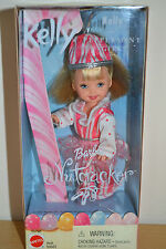 2001 Happy Holidays Barbie's Sister KELLY Peppermint Girl from The Nutcracker
