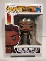 Black PANTHER - Erik Killmonger - n° 386 - Funko POP MARVEL - NEUVE