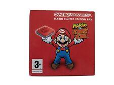 NINTENDO GAME BOY SP -  MARIO LIMITED EDITION PAK  (BOXED)