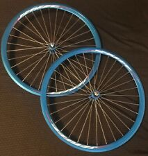 "JetSet Bicycle Rims 23"" 6061- T6 Sky Blue Pair Of 2"
