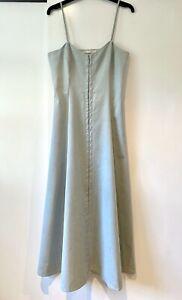 NEW $450 MARA HOFFMAN PALE BLUE ORGANIC COTTON LONG SUMMER DRESS 4US 8UK
