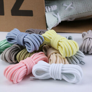 Pastel Laces for All Trainers Nike, Adidas, 20 Colours Black, White, Grey..