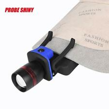 3000 LM Zoomable Q5 LED Torch Headlamp Clip-on Head Cap Hat Light AAA Battery FT