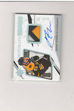 2017-18 Ultimate Collection Patches #54 Jakob Forsbacka-Karlsson AUTO /49