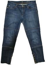 Hugo Boss Women's Jeans Slim Leg W30 L28 Blue Premium Rare Ladies Designer Jeans