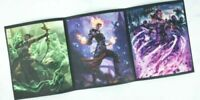 Loot Crate Gaming Exclusive May 2019 Magic The gathering Triptych Print W/ Code