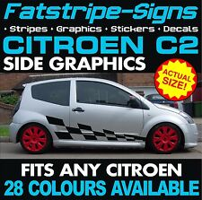 CITROEN C2 GRAPHICS CHECKER CAR VINYL DECALS STICKERS STRIPES  VTR VTS 1.4 1.6