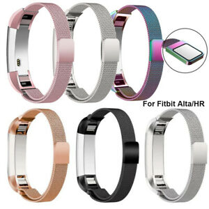 For Fitbit Alta/Alta HR Magnetic Milanese Stainless Steel Watch Band Strap UK