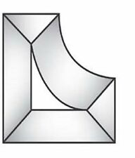 Stained Glass Supplies 2 x 1 Corner Bevels BC442