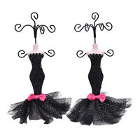 Mermaid Mannequin Dress Earring Necklace Ring Jewelry Holder Stand Display Cß