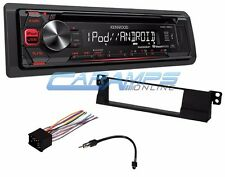 02-05 E46 3-SERIES KENWOOD STEREO RADIO AUX/USB WITH COMPLETE INSTALLATION KIT