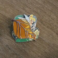 Disney Parks Pack Pin Peter Pan Tinkerbell Gold Leaf  LE 500--#3/3