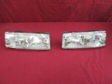 NOS Olds Silhouette Pontiac Trans Sport Chevy Lumina APV Headlamp 1990 - 93 PAIR