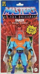 Masters of the Universe Origins Faker Figure - New Mattel MOTU