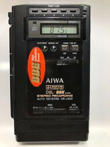 AIWA HS-J505 Stereo Cassette Recorder Radio Walkman
